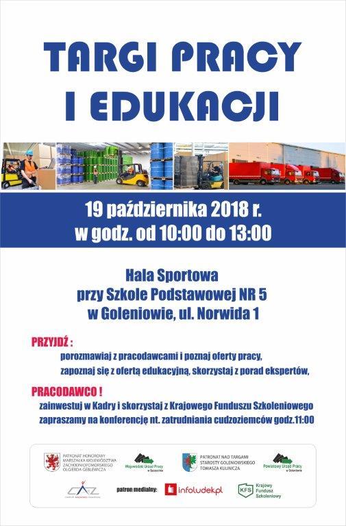 plakat targi pracy